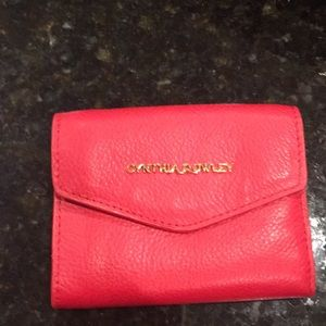Red Cynthia Rowley wallet